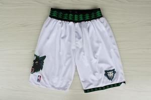 Pantaloni retro Minnesota Timberwolves Bianco
