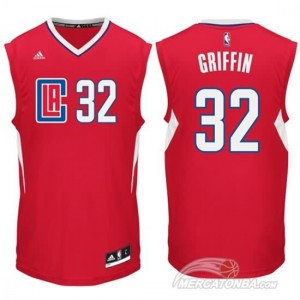 Canotte Griffi,Los Angeles Clippers Rosso
