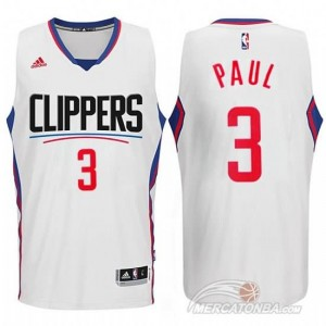 Canotte Paul,Los Angeles Clippers Bianco