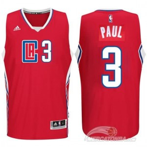 Canotte Paul,Los Angeles Clippers Rosso