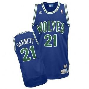 Canotte retro Garnett,Minnesota Timberwolves Blu2