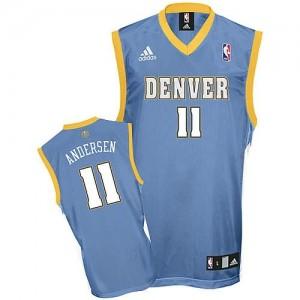 Canotte Andersen,Denver Nuggets Blu
