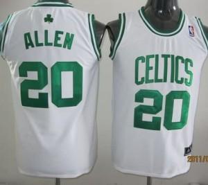 Canotte Bambini Allen,Boston Celtics Bianco