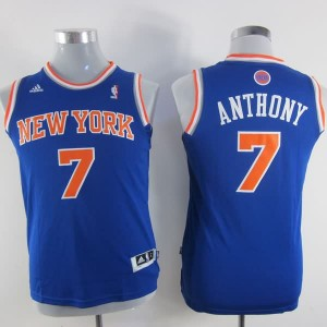 Canotte Bambini Anthony,New York Knicks Blu