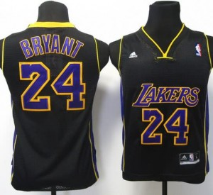 Canotte Bambini Bryant,Los Angeles Lakers Nero
