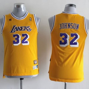 Canotte Bambini Johnson,Los Angeles Lakers Giallo