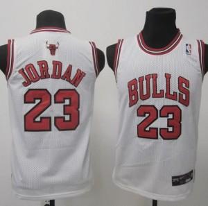 Canotte Bambini Jordan,Chicago Bulls Bianco