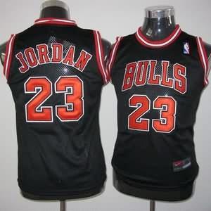 Canotte Bambini Jordan,Chicago Bulls Nero