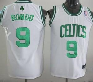 Canotte Bambini Rondo,Boston Celtics Bianco