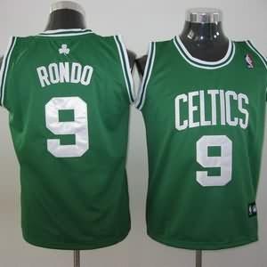 Canotte Bambini Rondo,Boston Celtics Verde