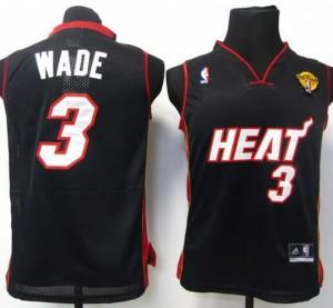 Canotte Bambini Wade,Miami Heats Nero