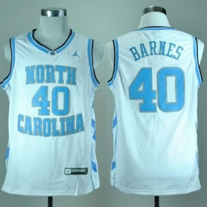 Canotte NCAA Barnes,North Carolina Bianco