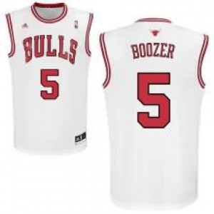 Canotte Boozer,Chicago Bulls Bianco