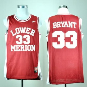 Canotte NCAA Bryant,Lower Merion Rosso