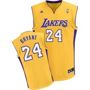 Canotte Rivoluzione 30 Bryant,Los Angeles Lakers Giallo