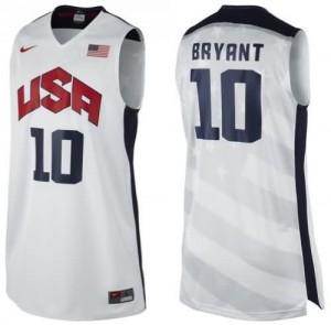 Canotte Bryant,USA 2012 Bianco
