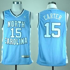 Canotte NCAA Carter,North Carolina Blu