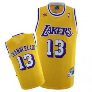 Canotte Chamberlain,Los Angeles Lakers Giallo