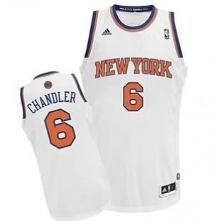 Canotte Rivoluzione 30 Chandler,New York Knicks Bianco