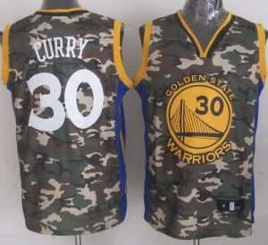 Canotte NBA Camouflage Curry Riv30