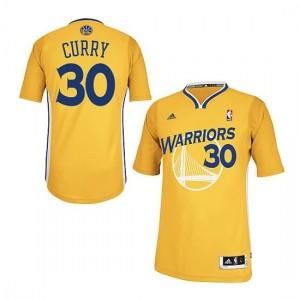 Canotte Rivoluzione 30 Curry,Golden State Warriors Giallo