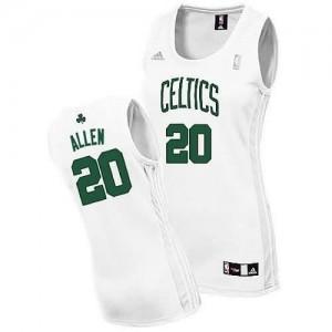 Canotte Donna Allen,Boston Celtics Bianco