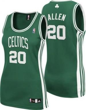 Canotte Donna Allen,Boston Celtics Verde