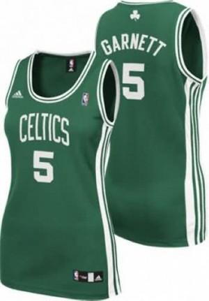 Canotte Donna Garnett,Boston Celtics Verde
