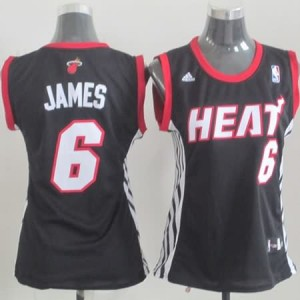 Canotte Donna James,Miami Heats Nero