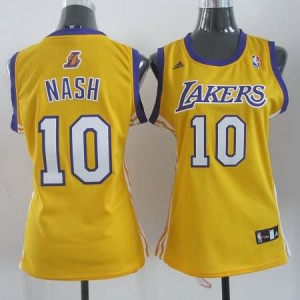 Canotte Donna Nash,Los Angeles Lakers Giallo