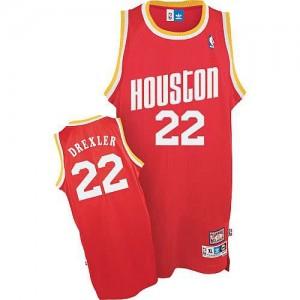 Canotte Drexler,Houston Rockets Rosso