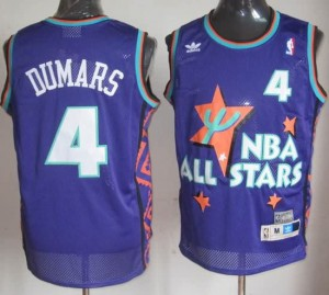 Canotte NBA Dumars,All Star 1995 Blu