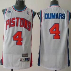 Canotte Dumars,Detroit Pistons Bianco
