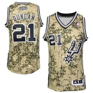 Canotte Rivoluzione 30 Duncan,San Antonio Spurs Camouflage