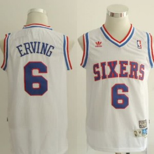 Canotte Erving,Philadelphia 76ers Bianco