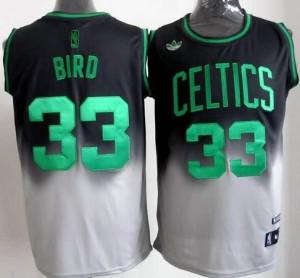 Canotte NBA Fadeaway Moda Bird Nero Bianco