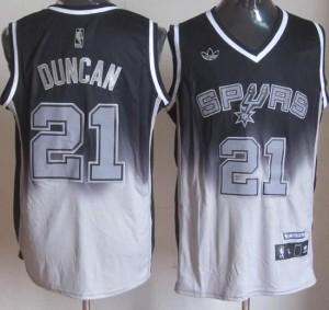 Canotte NBA Fadeaway Moda Duncan Nero Bianco