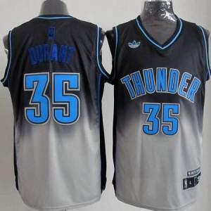 Canotte NBA Fadeaway Moda Durant Nero Bianco