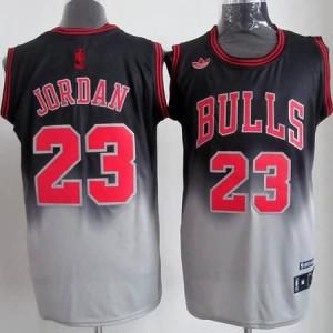 Canotte NBA Fadeaway Moda Jordan Nero Bianco