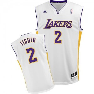 Canotte Fisher,Los Angeles Lakers Bianco