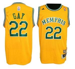 Canotte Gay,Memphis Grizzlies Giallo