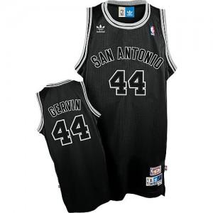 Canotte Gervin,San Antonio Spurs Spurs Nero