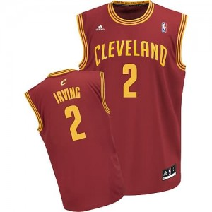 Canotte Rivoluzione 30 Irving,Cleveland Cavaliers Rosso
