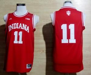 Canotte NCAA Isiah Thomas,Indiana Rosso