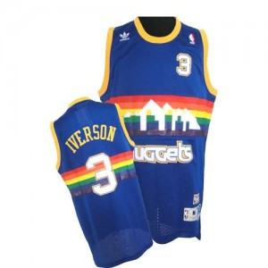 Canotte Iverson,Denver Nuggets Blu