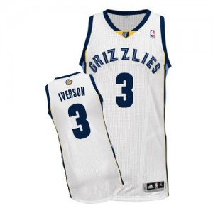 Canotte Iverson,Memphis Grizzlies Grizzlies Bianco