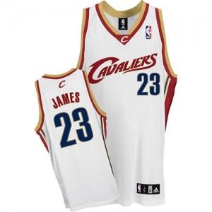 Canotte James,Cleveland Cavaliers Bianco
