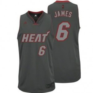 Canotte Rivoluzione 30 James,Miami Heats Grigio