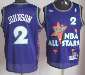 Canotte NBA Johnson,All Star 1995 Blu