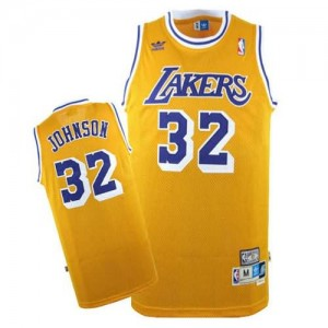 Canotte Johnson,Los Angeles Lakers Giallo